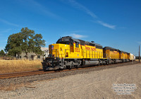 UP 1552 southbound Redding Turn - Red Bluff - June 10,2011