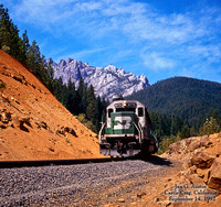BN 6770 - Castle Crag, California -  September 14, 1992