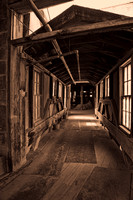 Hallway between Buildings - Gladding McBean Manufacturing - Lincoln, California - March 4, 2006