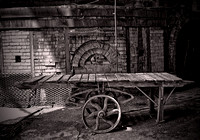 Wooden Cart - Gladding McBean Manufacturing - Lincoln, California - May 26, 2010