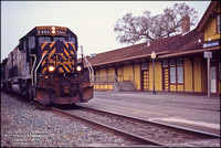 DRGW 5401 - Chico - December 6, 1995