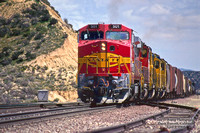 ATSF 501 - Cajon Summit - April 2, 1995